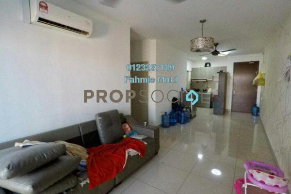 For Sale Condominium at Alam Sanjung, Shah Alam Freehold Semi Furnished 3R/2B 375k
