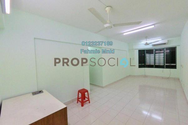For Sale Condominium at Petaling Indah, Sungai Besi Freehold Semi Furnished 3R/2B 310k