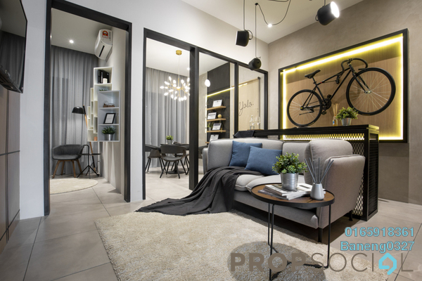 For Sale Serviced Residence at Sunway Pyramid, Bandar Sunway Freehold Semi Furnished 0R/0B 399k