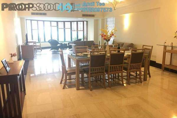 For Rent Condominium at Regency Tower, Bukit Ceylon Freehold Fully Furnished 3R/4B 7k