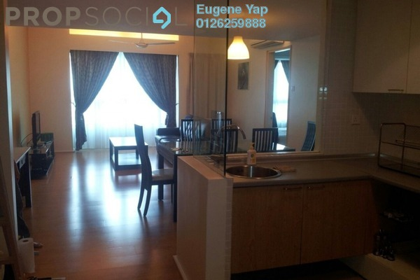 For Sale Serviced Residence at i-Zen Kiara I, Mont Kiara Freehold Fully Furnished 1R/1B 620k