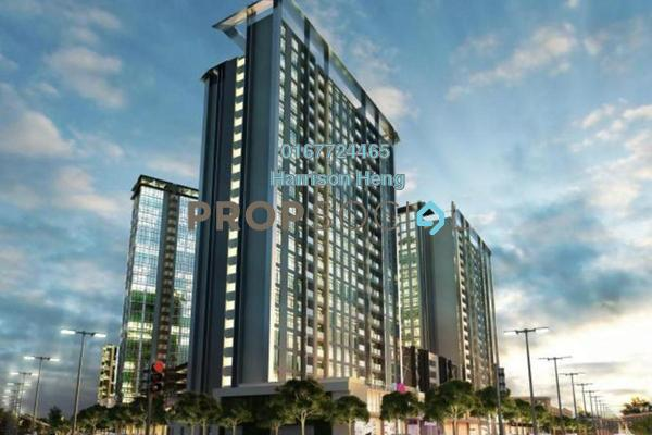 For Sale Serviced Residence at Nusa Sentral, Iskandar Puteri (Nusajaya) Freehold Semi Furnished 2R/2B 360k