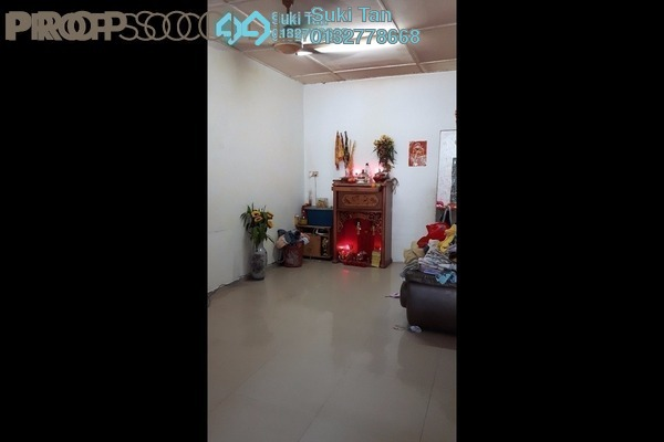 For Sale Terrace at Kepong Baru, Kepong Freehold Semi Furnished 3R/2B 675k
