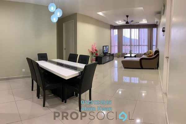For Rent Condominium at Upper East @ Tiger Lane, Ipoh Freehold Fully Furnished 3R/2B 2.6k