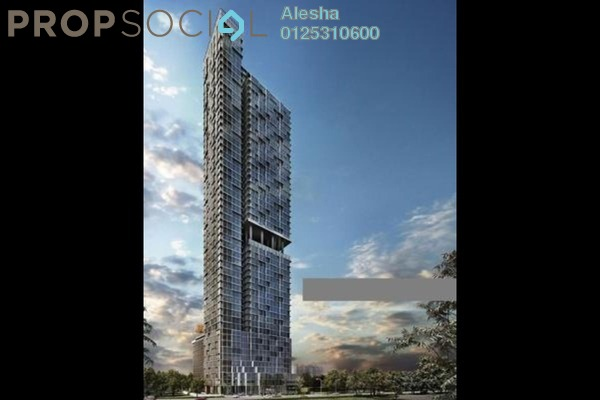 For Sale Serviced Residence at Expressionz Professional Suites, Titiwangsa Freehold Unfurnished 0R/0B 1.17m