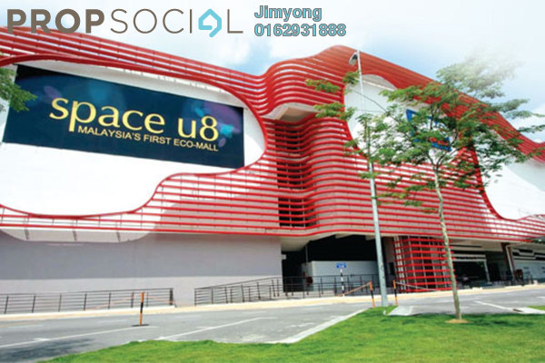 For Sale Shop at Space U8, Bukit Jelutong Freehold Unfurnished 1R/1B 700k