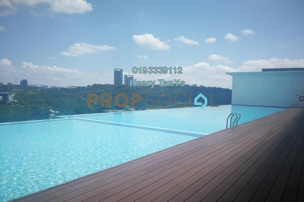 For Rent Serviced Residence at Sky Park, Cyberjaya Freehold Fully Furnished 3R/1B 1.2k