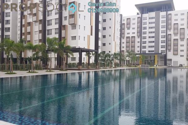 For Rent Apartment at Seri Mutiara, Setia Alam Freehold Unfurnished 3R/2B 1k