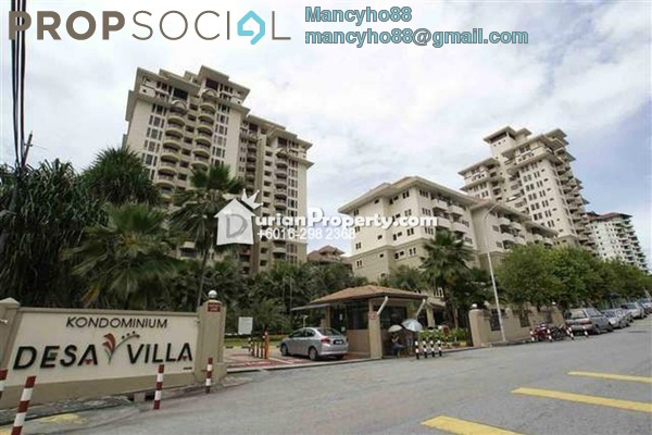 For Sale Condominium at Desaria Villa, Puchong Freehold Semi Furnished 4R/2B 275k