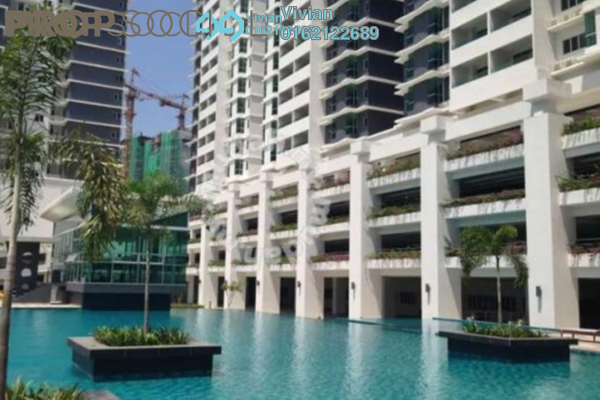 For Sale Condominium at Kiara Residence 2, Bukit Jalil Leasehold Semi Furnished 3R/2B 598k