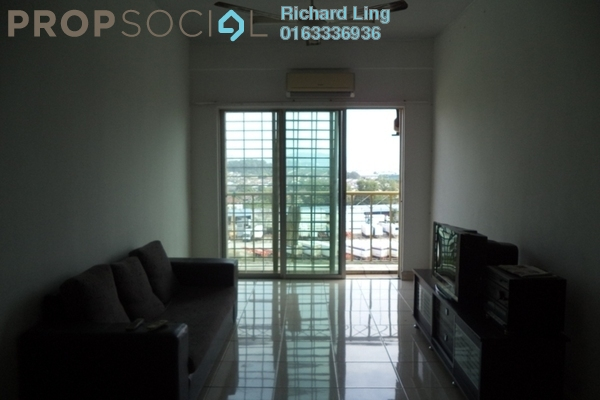 For Sale Condominium at Juta Mines, Seri Kembangan Freehold Fully Furnished 3R/2B 300k