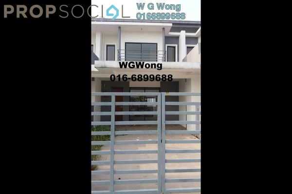 For Sale Terrace at Bandar Tasik Puteri, Rawang Freehold Unfurnished 4R/3B 399k