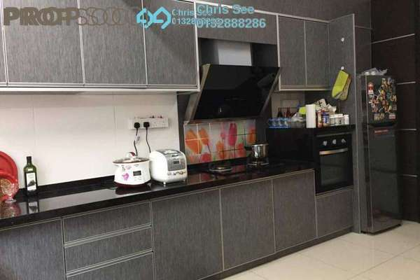 For Sale Terrace at Ken Rimba, Shah Alam Freehold Fully Furnished 4R/3B 770k