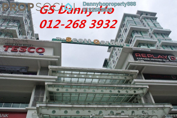 For Sale SoHo/Studio at The Scott Garden, Old Klang Road Freehold Semi Furnished 1R/2B 450k