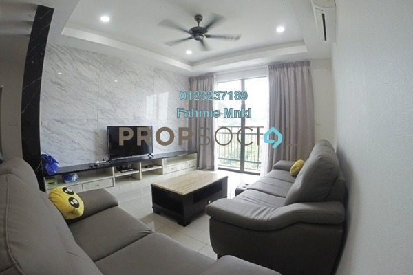 For Sale Condominium at V-Residensi, Selayang Heights Leasehold Semi Furnished 3R/3B 499k