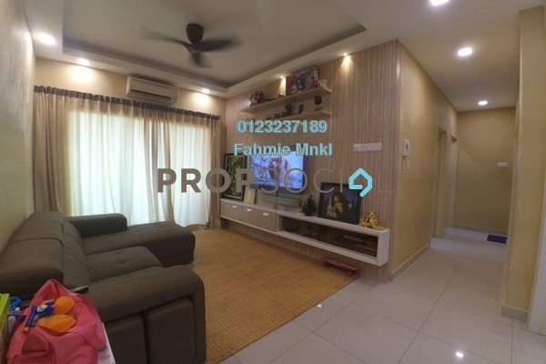 For Sale Serviced Residence at OUG Parklane, Old Klang Road Freehold Semi Furnished 3R/2B 435k