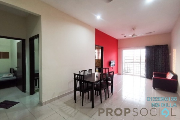 For Sale Apartment at Residensi Warnasari, Puncak Alam Leasehold Fully Furnished 3R/2B 250k