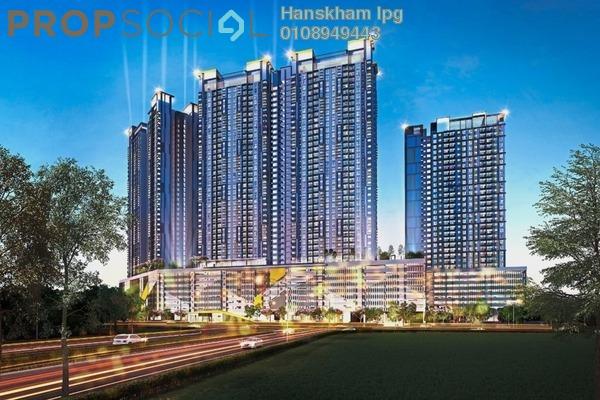 For Sale Condominium at PV18 Residence, Setapak Freehold Semi Furnished 3R/2B 430k