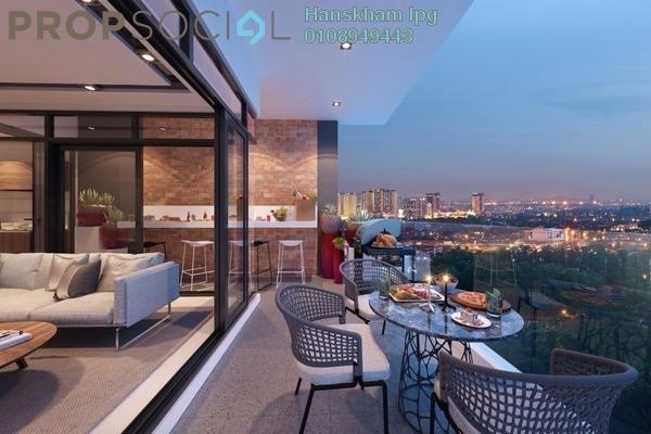 For Sale Condominium at Bennington Residences @ SkyArena, Setapak Freehold Semi Furnished 4R/2B 610k