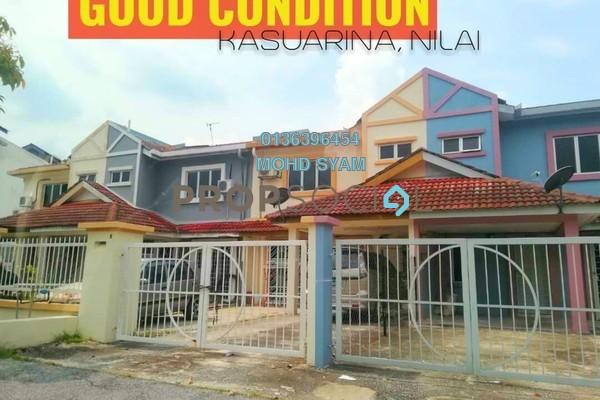 For Sale Terrace at Desa Casuarina, Putra Nilai Freehold Semi Furnished 4R/3B 395k