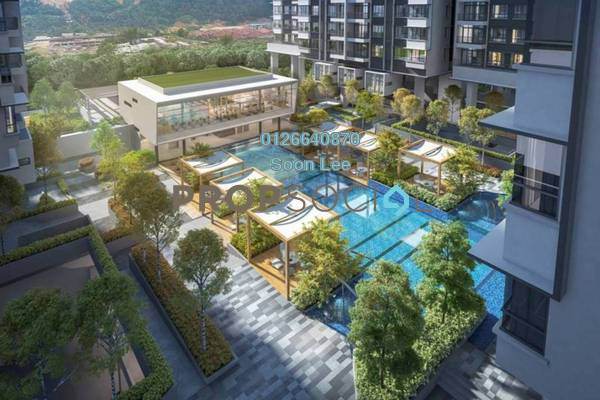 For Sale Condominium at Alstonia Residence, Bandar Sungai Long Freehold Unfurnished 4R/3B 712k