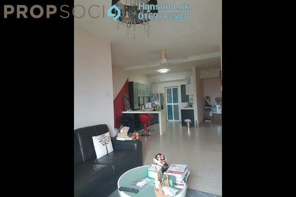 For Sale Condominium at Changkat View, Dutamas Freehold Semi Furnished 3R/2B 500k