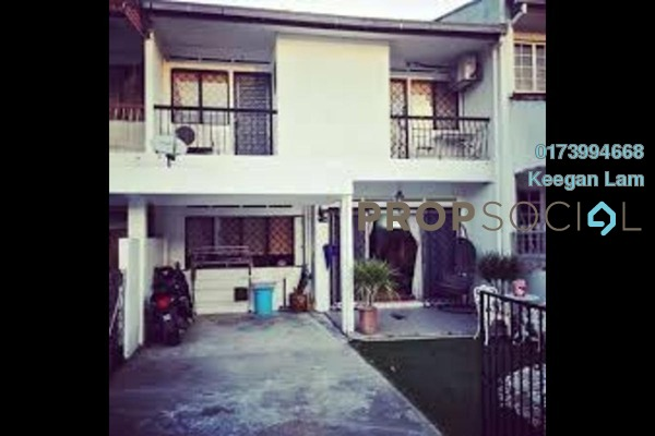 For Sale Terrace at Taman Murni, Cheras South Freehold Semi Furnished 3R/2B 520k