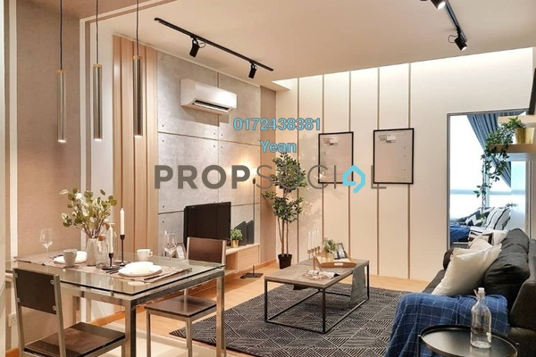 For Rent Serviced Residence at Park View, KLCC Freehold Fully Furnished 2R/1B 3.2k