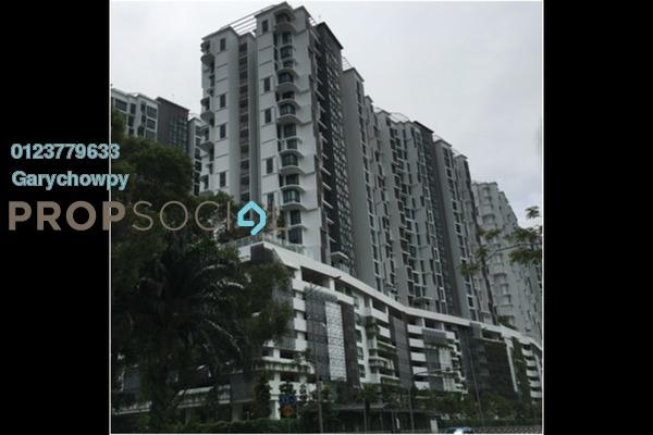 For Sale Serviced Residence at H2O Residences, Ara Damansara Freehold Semi Furnished 3R/2B 504k