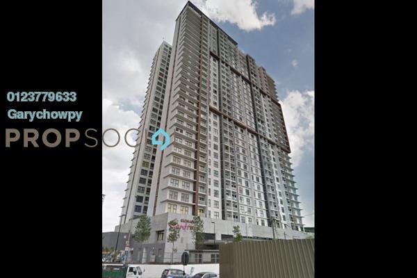 For Sale Serviced Residence at Glomac Centro, Bandar Utama Leasehold Semi Furnished 3R/3B 689k