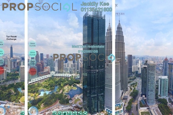 For Sale Condominium at Oxley Towers, Kuala Lumpur Freehold Fully Furnished 3R/2B 2m