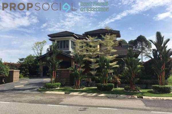 For Sale Bungalow at Perdana Lakeview East, Cyberjaya Freehold Fully Furnished 8R/7B 7m