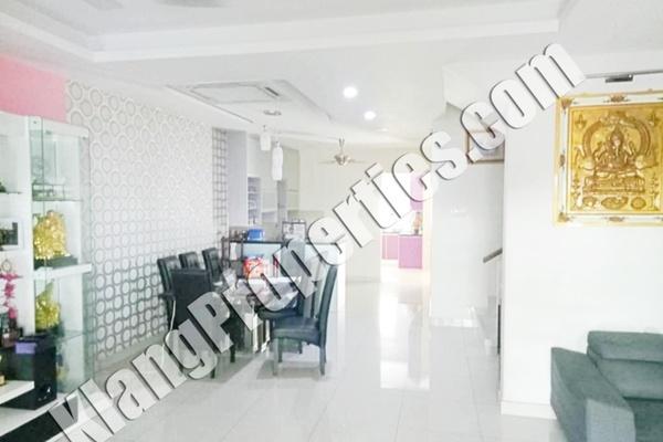 For Sale Terrace at Bandar Puteri Klang, Klang Freehold Fully Furnished 5R/5B 1m