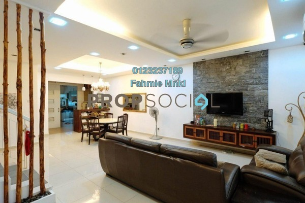 For Sale Terrace at Sutera Damansara, Damansara Damai Leasehold Semi Furnished 4R/4B 890k