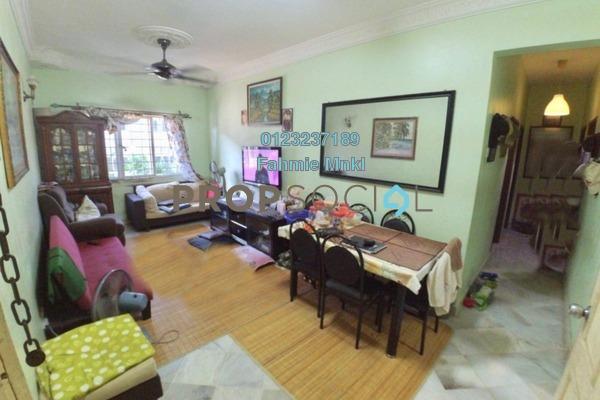 For Sale Apartment at Pesona Villa, Kemensah Freehold Semi Furnished 3R/2B 345k