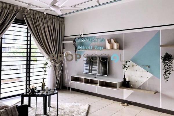For Rent Condominium at Casa Kiara I, Mont Kiara Freehold Fully Furnished 3R/2B 2.8k