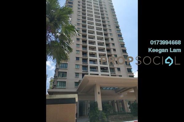 For Rent Condominium at Casa Kiara II, Mont Kiara Freehold Fully Furnished 4R/3B 2.8k