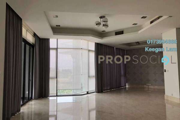 For Rent Condominium at Gallery U-Thant, Ampang Hilir Freehold Semi Furnished 3R/4B 7k