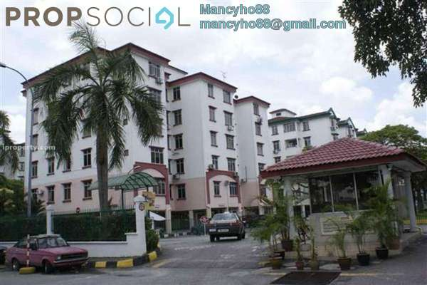 For Rent Apartment at Goodyear Court 10, UEP Subang Jaya Freehold Fully Furnished 3R/2B 1.5k