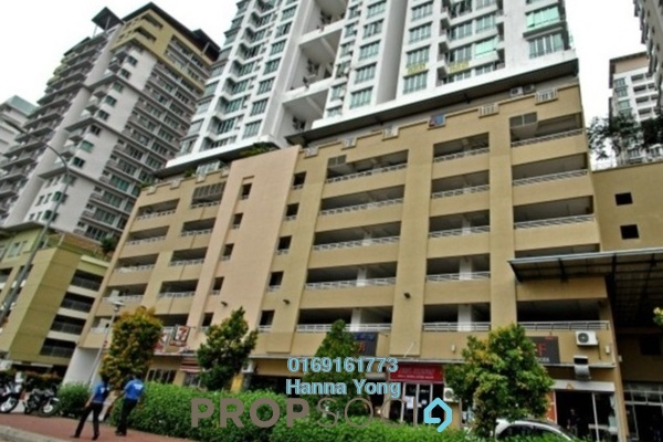 For Rent Serviced Residence at Casa Tiara, Subang Jaya Freehold Fully Furnished 2R/2B 1.9k