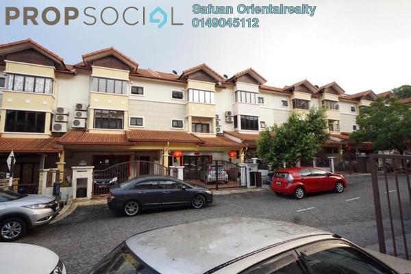 For Sale Terrace at Taman Cheras Permai, Batu 9 Cheras Freehold Semi Furnished 6R/2B 940k
