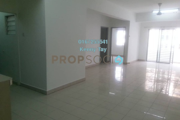 For Rent Apartment at Vista Mutiara, Kepong Freehold Semi Furnished 3R/2B 1.2k