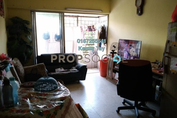 For Sale Apartment at Happy Court, Kepong Freehold Semi Furnished 3R/1B 220k