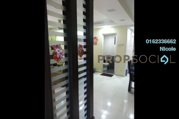 For Sale Condominium at Palm Spring, Kota Damansara Freehold Semi Furnished 3R/2B 370k
