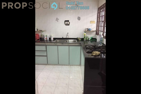 For Sale Terrace at Taman Mastiara, Jalan Ipoh Freehold Semi Furnished 4R/3B 620k