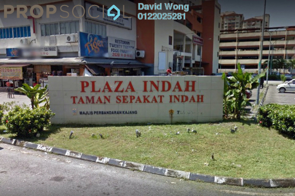 For Rent Apartment at Plaza Indah, Kajang Freehold Fully Furnished 3R/2B 1.1k