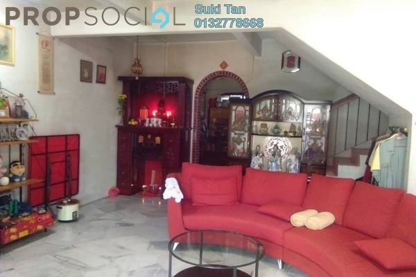 For Sale Terrace at Taman Mastiara, Jalan Ipoh Freehold Semi Furnished 4R/3B 590k