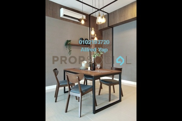 For Rent Condominium at Reflection Residences, Mutiara Damansara Freehold Fully Furnished 3R/2B 4.2k