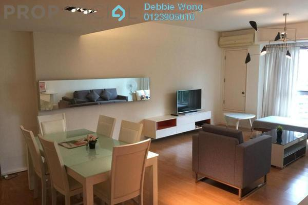 For Rent Condominium at i-Zen Kiara I, Mont Kiara Freehold Fully Furnished 3R/3B 4.5k