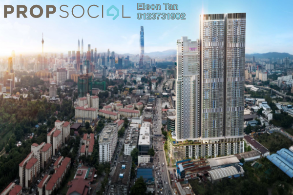 For Sale Serviced Residence at Trion @ KL, Kuala Lumpur Freehold Semi Furnished 2R/1B 475k